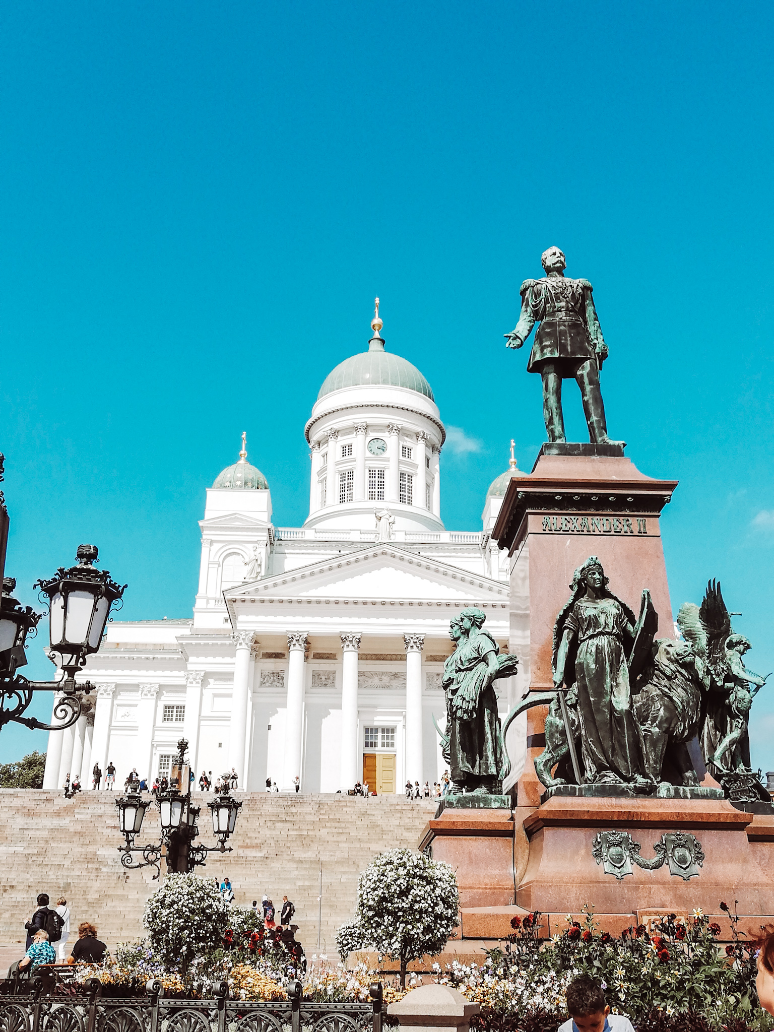 Helsinki through my phone