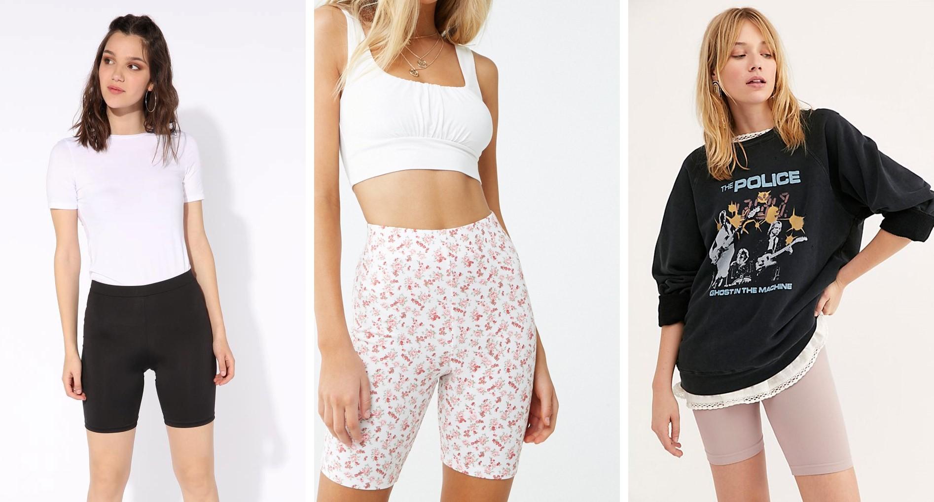 Talking Trends: Biker Shorts!