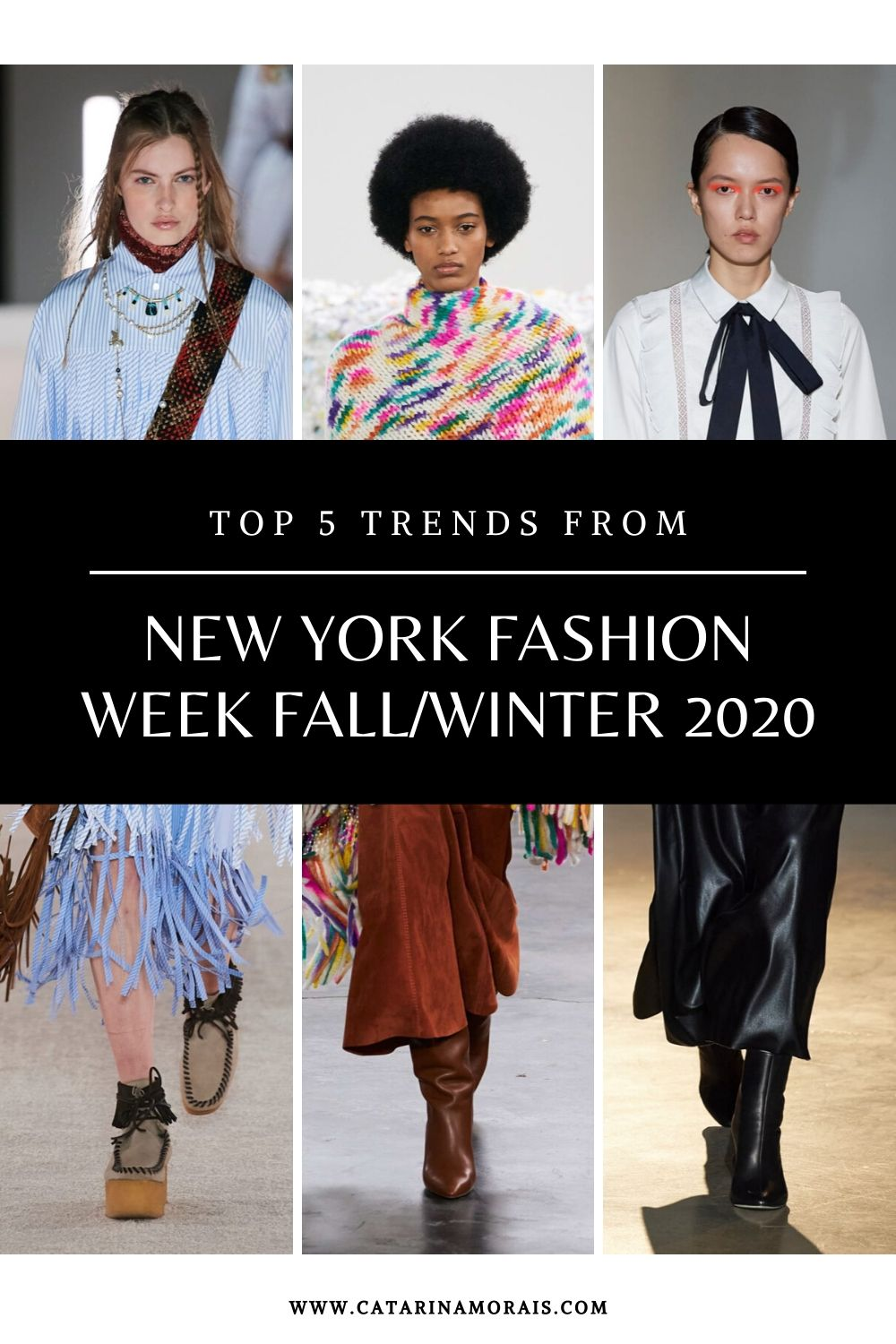 Top 5 trends from New York Fashion Week Fall/Winter 2020