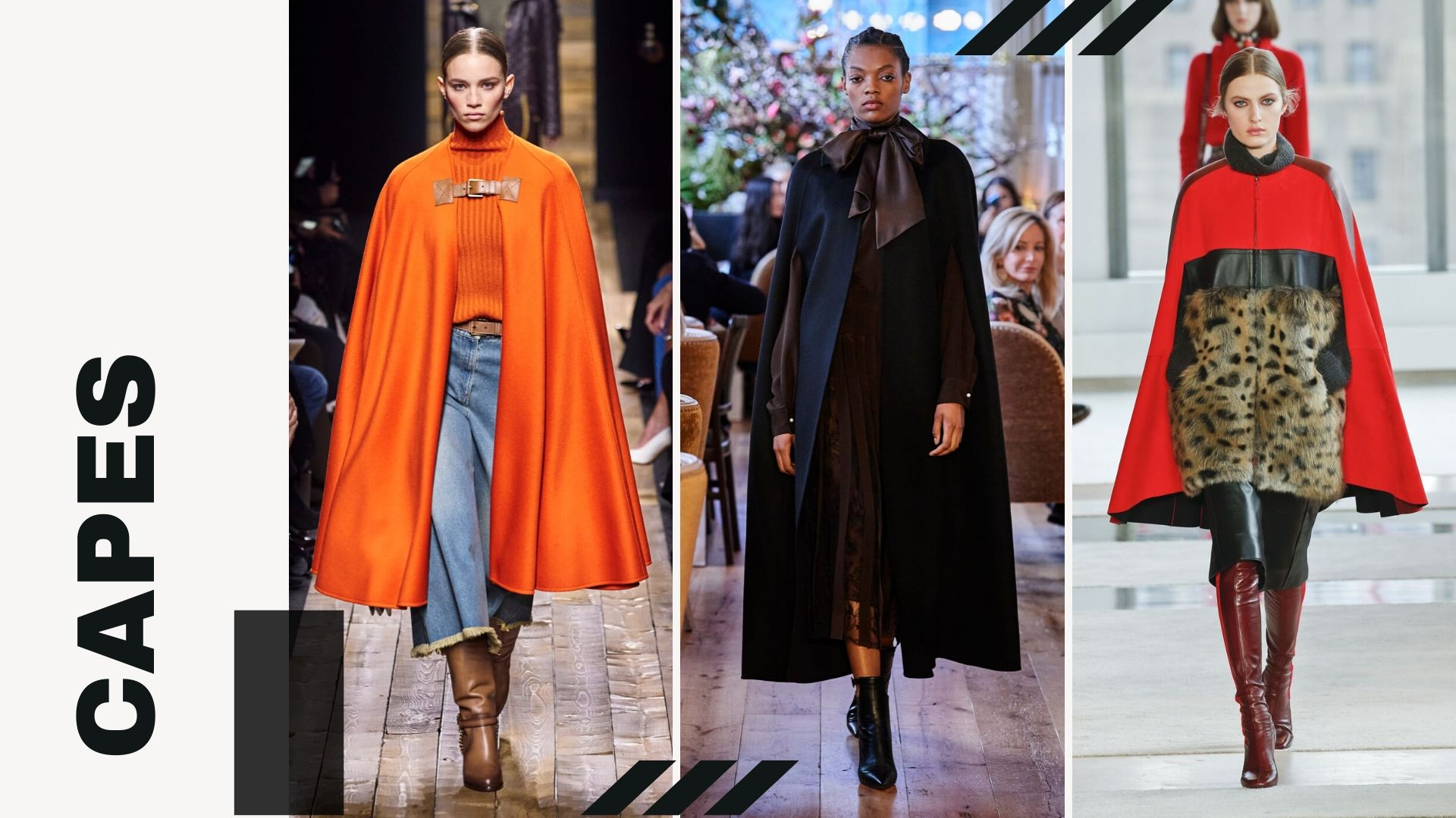 Top 5 trends from New York Fashion Week Fall/Winter 2020 - Capes