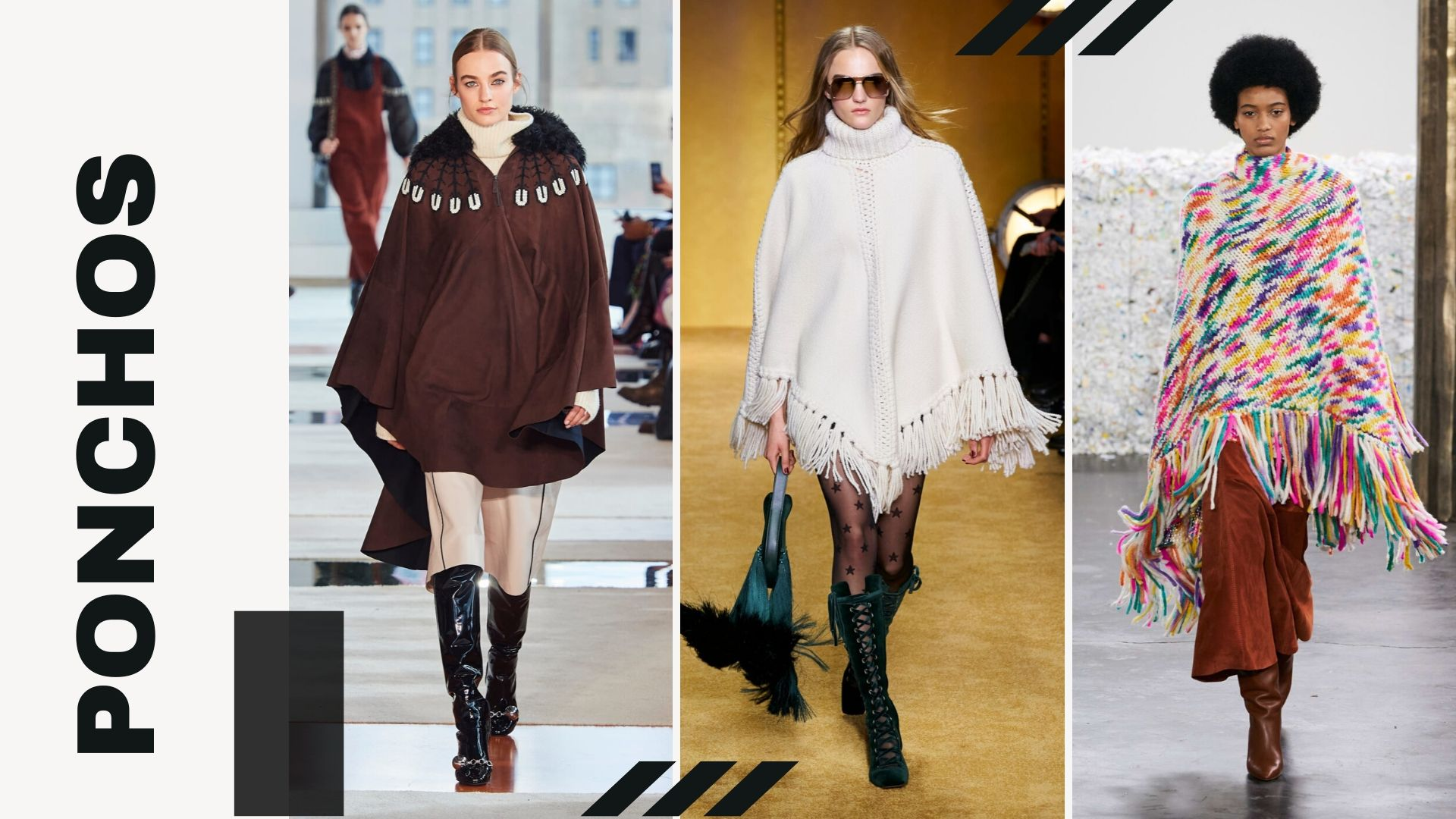 Top 5 trends from New York Fashion Week Fall/Winter 2020 - Ponchos