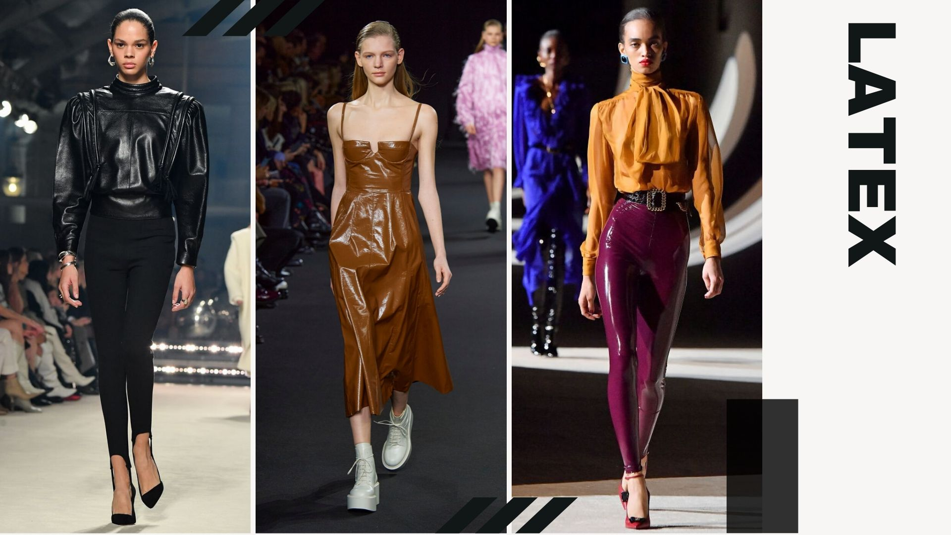 TOP 5 TRENDS FROM PFW F/W - Latex