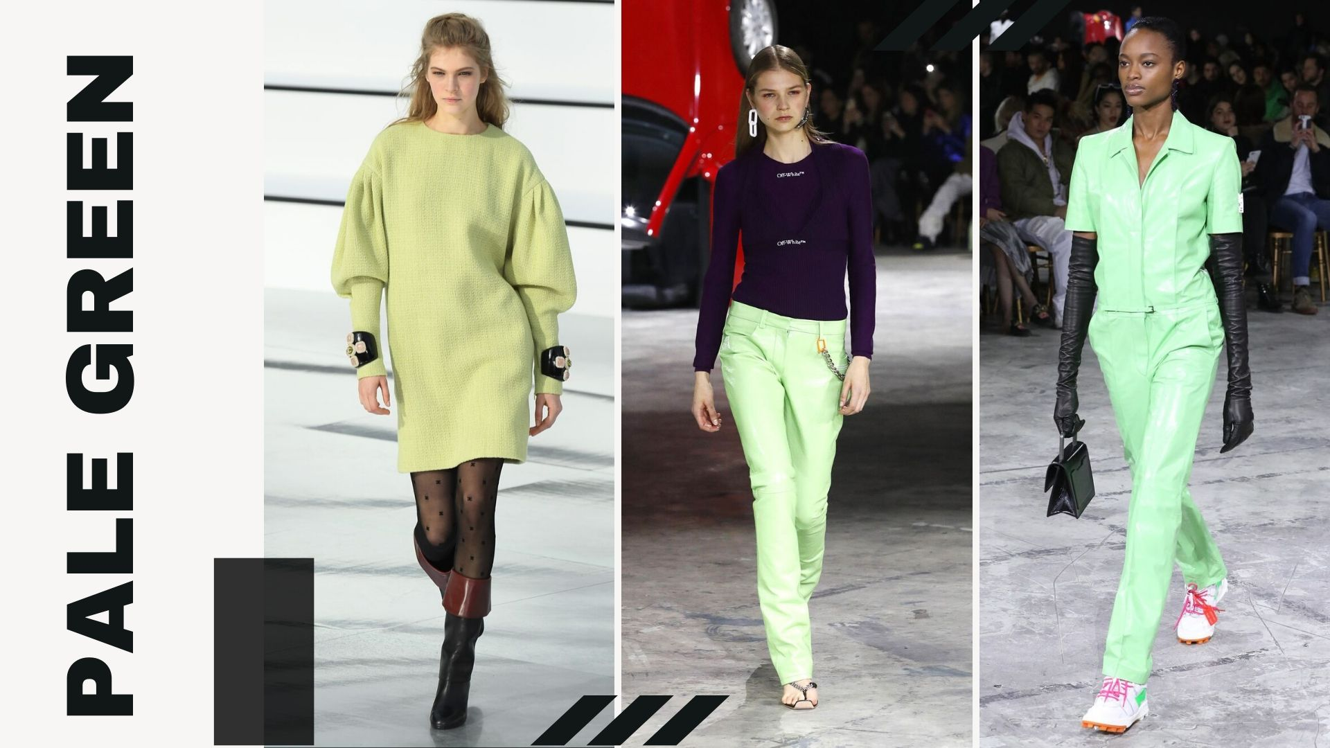 TOP 5 TRENDS FROM PFW F/W - Pale Green