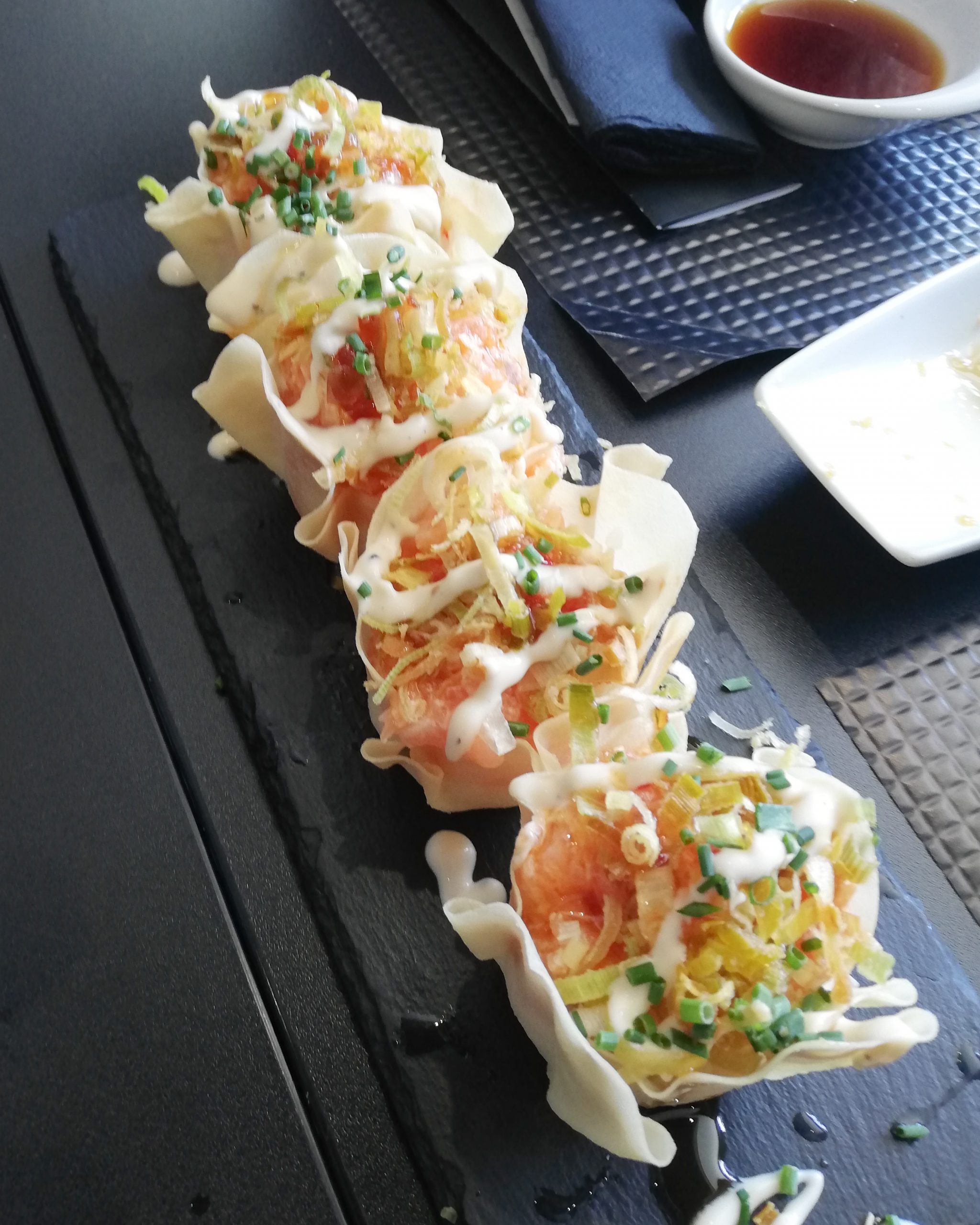 Holidays are happy days - Sushi
