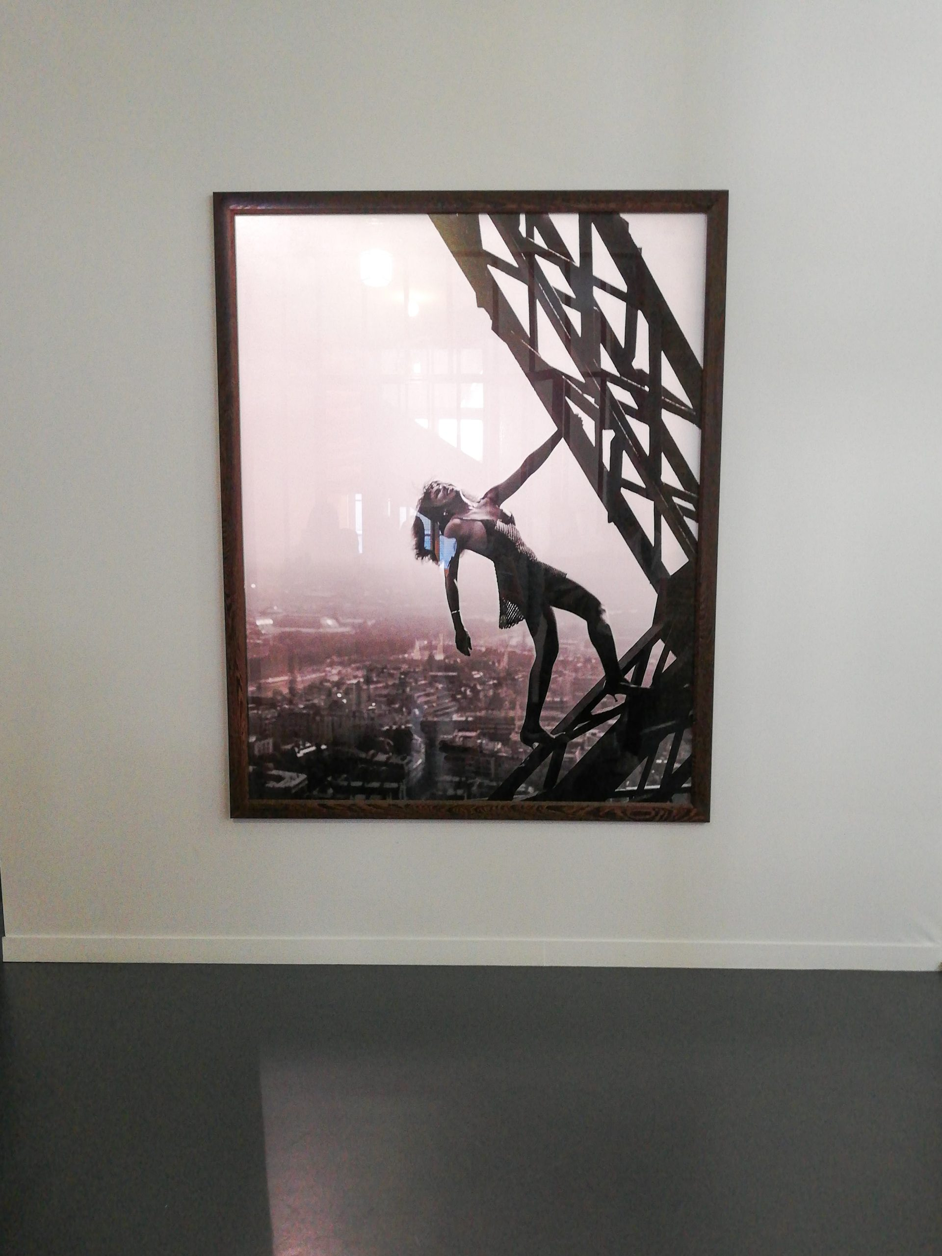 Tina Turner Climbing the Eiffel Tower