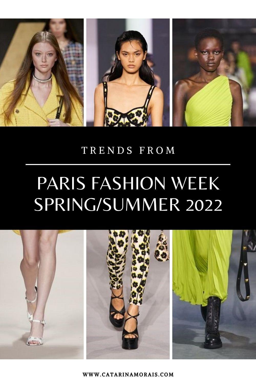 PARIS FASHION WEEK TRENDS S/S 2022